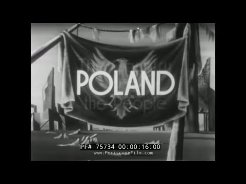 POLAND BEFORE AND AFTER WWII  GDNASK WARSAW  KRAKOW 1946 TRAVELOGUE 75734