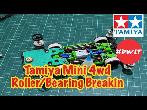Tamiya Mini 4wd Roller:Bearing Breakin