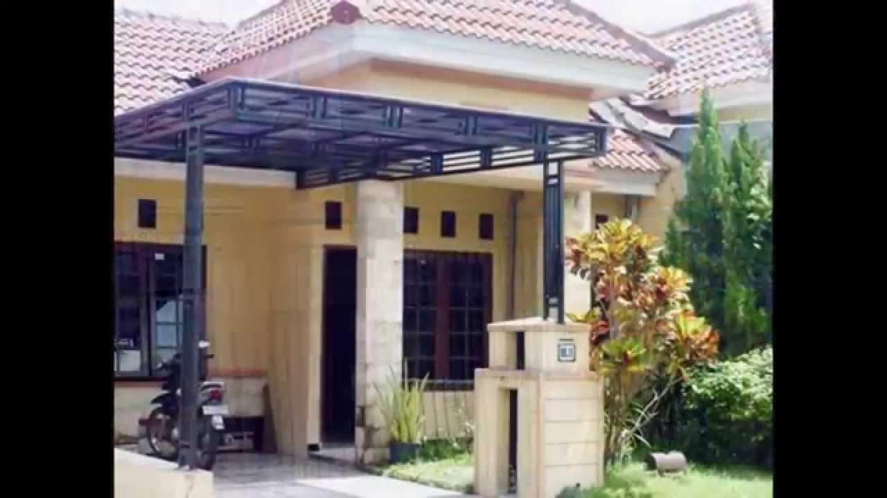 Contoh Kanopi Carport Rumah Minimalis Modern Youtube