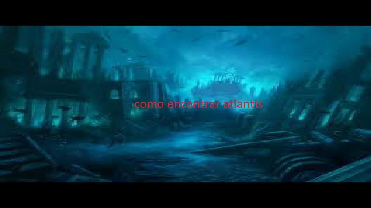 como achar Atlantis a cidade perdida no mar!-minecraft ...