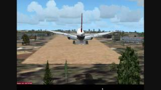 Flying around Africa 6 Mogadishu, Somalia FSX HD