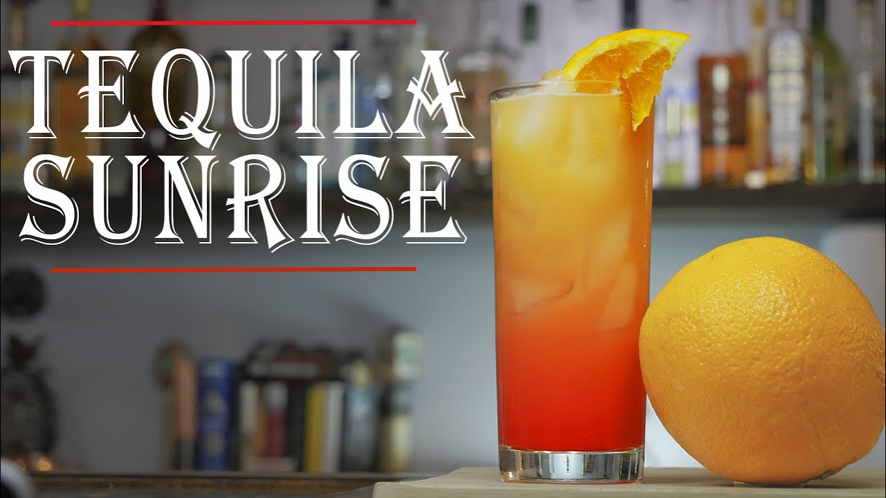 How To Make the Perfect Tequila Sunrise