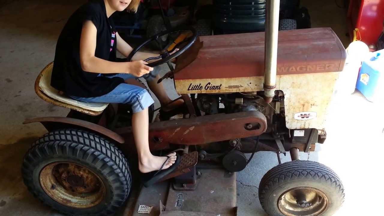 Antique Garden Tractor Wagner