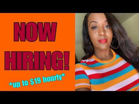 4 Work From Home Jobs Hiring Now For Summer 2019