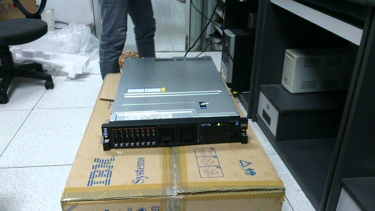 Server Ibm X3650 M4 Youtube
