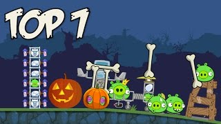 Top 7: Bad Piggies Bone Inventions