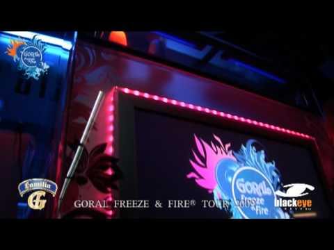 GORAL FREEZE AND FIRE TOUR 2009 Trafo Music Bar (Bratislava/ Slovakia)
