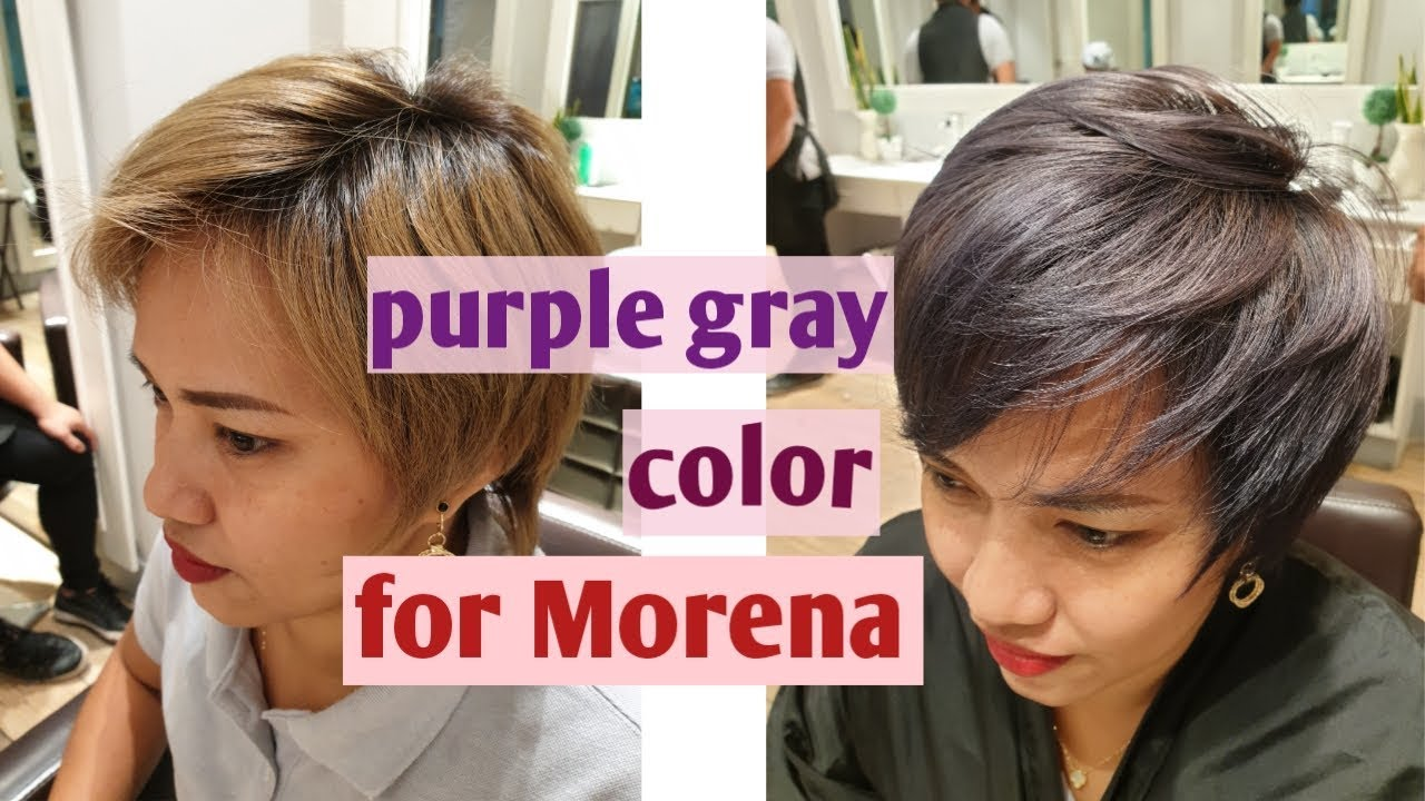 Ash Gray Hair Color Loreal Tipid Mode By Yogad Mommy