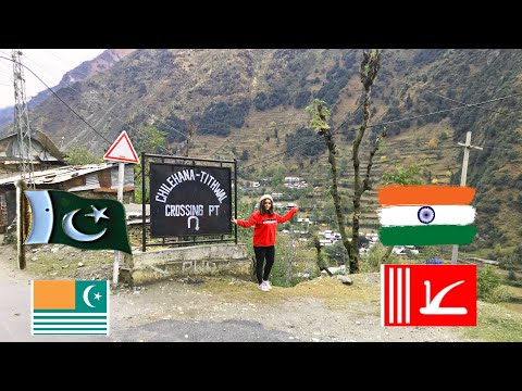 Azad Kashmir & Indian occupied Kashmir |Neelam Valley Keran & Shardra Bridge | let's travel