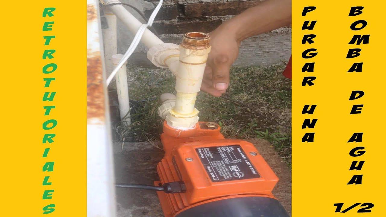 Purgar una bomba de agua de 1 2hp hacer funcionar una - Bombas de agua ...