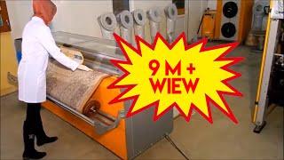 Safran carpet cleaning machines workflow plan