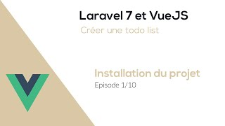 Miniature catégorie - Application avec Laravel 7 & VueJS