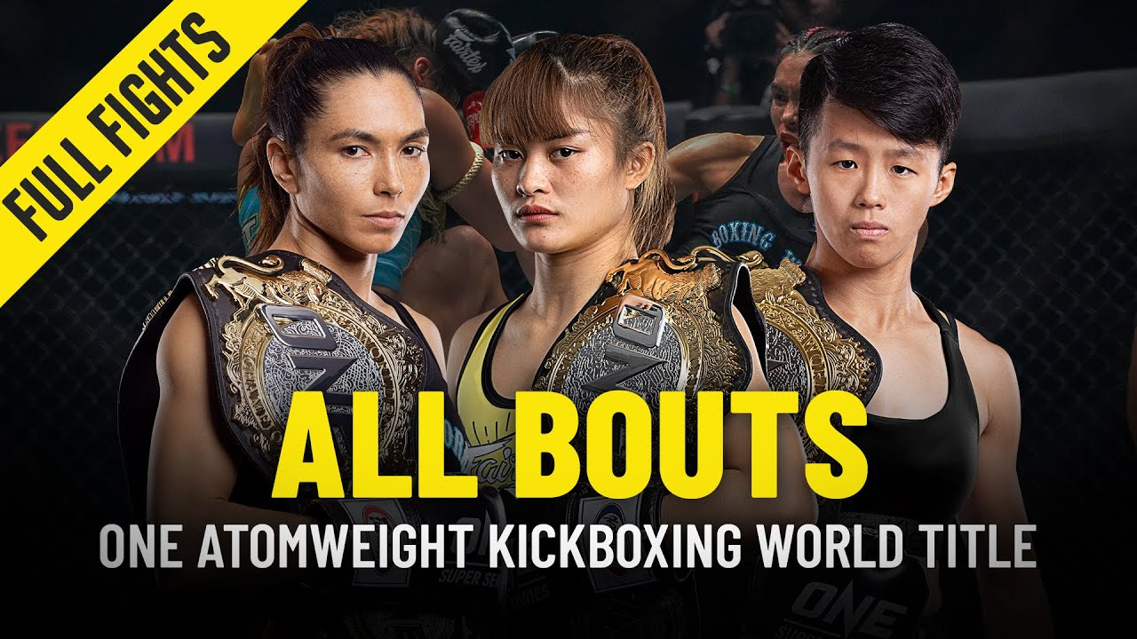 History Of The ONE Atomweight Kickboxing World Championship | ONE Full Fights