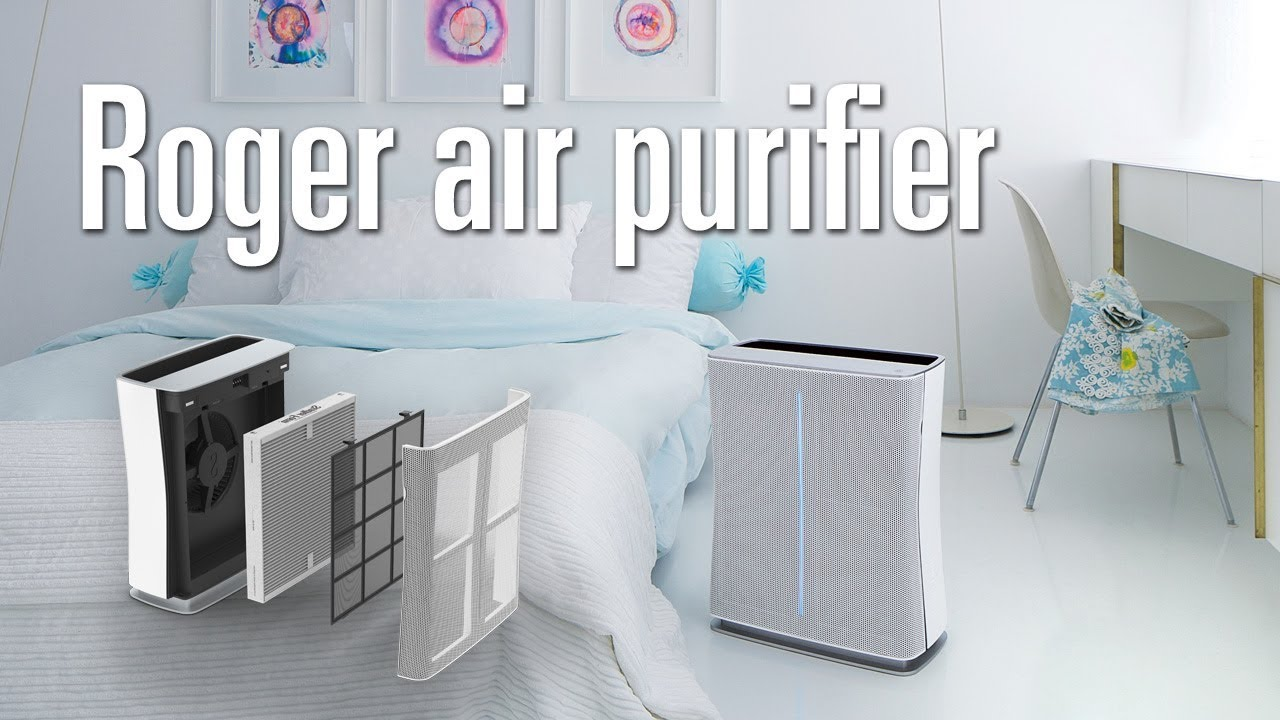 Roger // HEPA Air Purifier + Active Carbon Filter video thumbnail