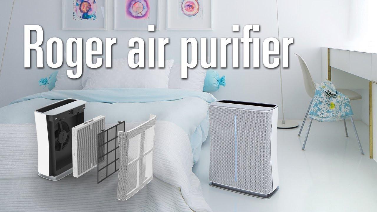 Roger Little // HEPA Air Purifier + Active Carbon Filter video thumbnail