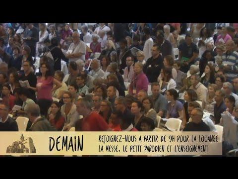 [Paray online] Louange, messe et enseignement (18 Aout)