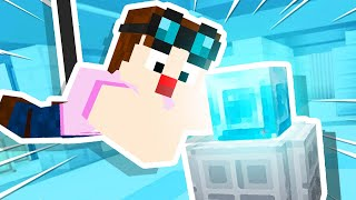 STEALING a HUGE Minecraft Diamond!