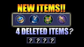 ITEM UPDATE - KNOW THE NEW, THE UPDATED AND THE DELETED ITEMS IN MOBILE LEGENDS