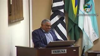 19ª Sessão Ordinária - Vereador Mineiro