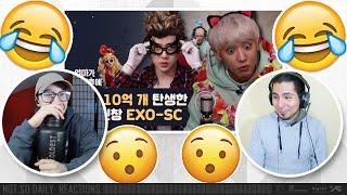 EXO-SC [After Mom Falls Asleep] | NSD REACTION