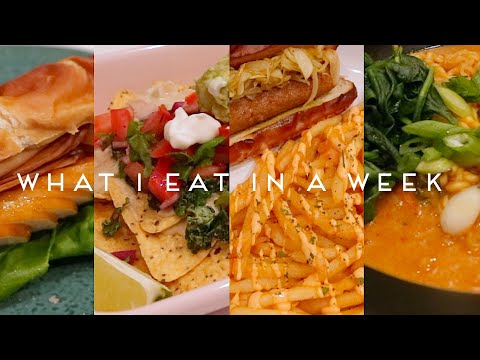 WHAT I EAT IN A WEEK VEGAN | Quarantine Edition #005