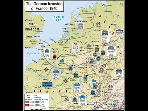 The Invasion Of France Order Of Battle Blitzkrieg Part 9 Youtube