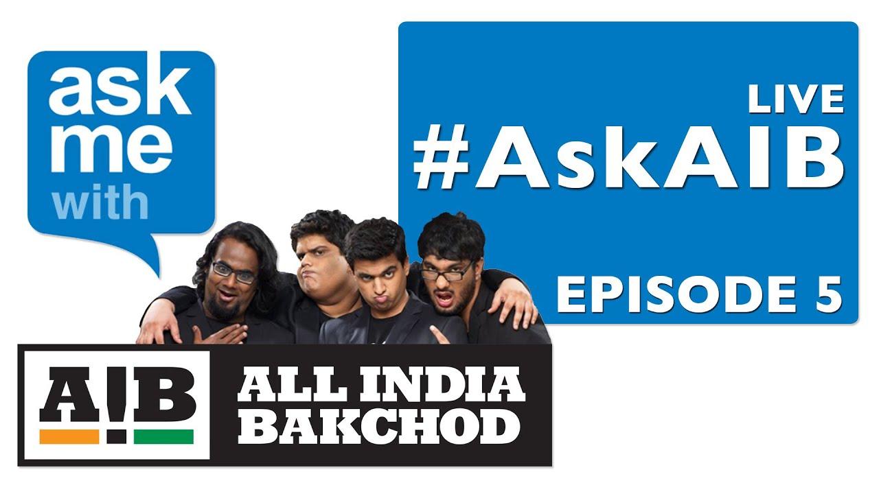#AskAIB 5 - Live!