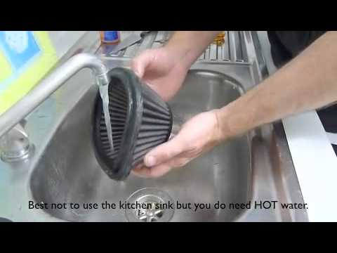 DNA Air Filter Servicing ( Cleaning and Re-Oiling)