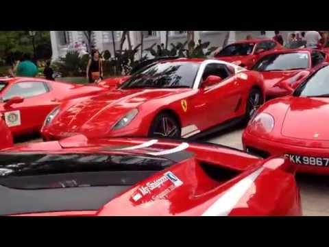 Ferrari Owners' Club Singapore event in National Museum of Singapore | EnterSingapore.info