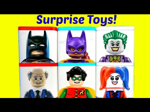Batman Lego Movie Toy Surprise Boxes Joker Harley Quinn ...