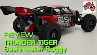 Gambar cover Review: Thunder Tiger Bushmaster 1/8 Scale Desert Buggy