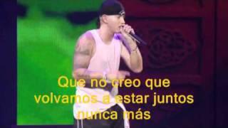 Eminem - Mockingbird Live Subtitulada en Español