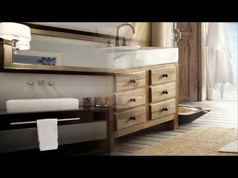 Small Bathroom Vanities With Double Sinks