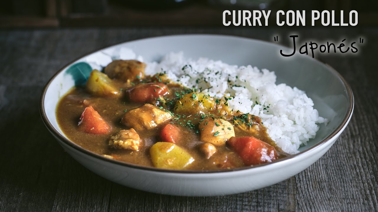 Curry Japonés con Pollo (Receta Fácil)