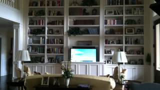 TV Lift - Custom Cabinet Installation -