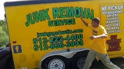 Junk Removal Pricing in Austin Texas 512-222-4400 www.JunkGuysAustin.com