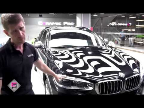 BMW X6 – scratches on a new car. Ceramic Pro Beijing