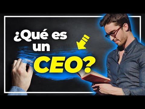 ¿Qué es un CEO y cuáles son sus funciones? | EUGE OLLER