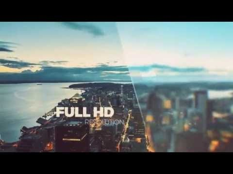 Free After Effects Slideshow Template - YouTube