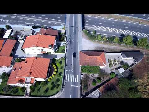 Xiaomi MI Drone 4K Maiden Flight - Maia, Portugal