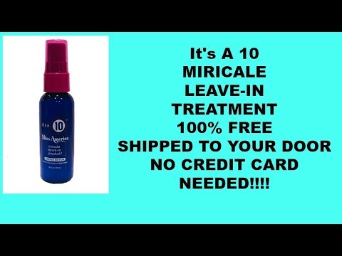 FREE It's A 10 Leave In Treatment! $12.33 Value!!!