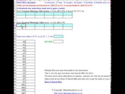 E W Double Bet Calculator - image 7