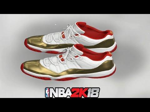 75d7f810ae6d NBA 2K18 Shoe Creator ⋆ NBA2K18⋆ Jordan 11 Low Two Rings