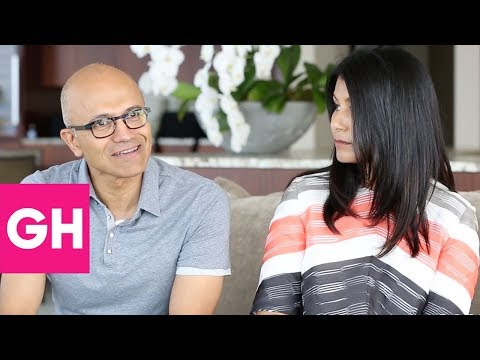 Satya Nadella and Anu Nadella Open Up About Their Family | GH