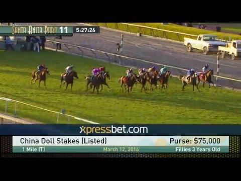 China Doll Stakes (Listed) - Saturday, March 12, 2016 HD