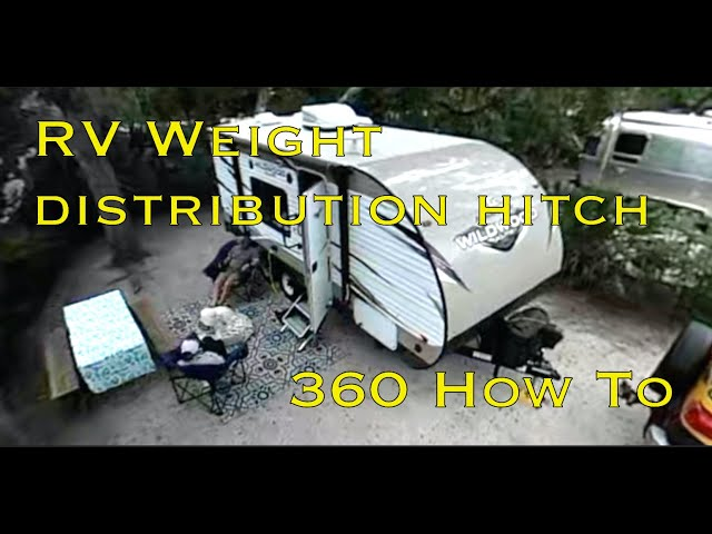 RV Weight Distribution Hitch | Towing weight distribution hitch