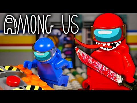 LEGO Мультфильм Among Us - MIRA HQ / Предатель среди нас / Stop Motion, Animation