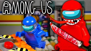 LEGO Мультфильм Among Us - MIRA HQ / Предатель среди нас / Stop Motion, Animation