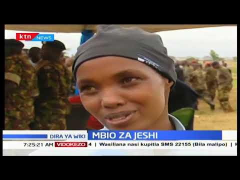 Wanajeshi wa Kenya Defence Forces kushiriki kwenye mbio