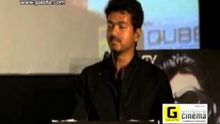 Vijay talks at Mugamoodi audio launch Event